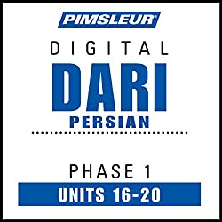 Dari Persian Phase 1, Unit 16-20