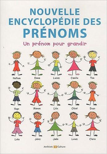 En ligne Nouvelle encyclopédie des prénoms pdf ebook