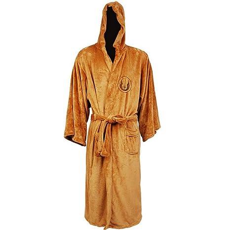 1PC Caballero Jedi Robe Fleece Batas Disney Star Wars Albornoz cosplay Set para el hombre y
