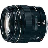 Canon EF 100mm f/2 USM - Objetivo para Canon (distancia focal fija 100mm, apertura f/2-22, diámetro: 58mm) negro