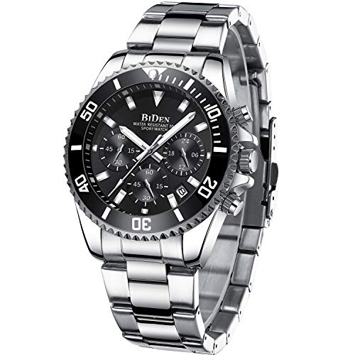 Mens Watches Chronograph...