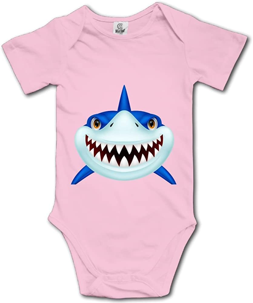 Great White Shark Newborn Girl Boy Romper Jumpsuit Bodysuit Baby Outfits Infant Clothes