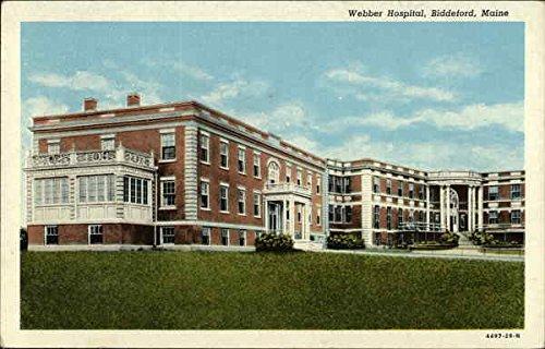 - Webber Hospital Biddeford, Maine Original Vintage Postcard