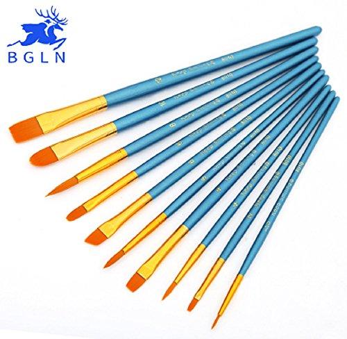 tp7-10pcs-set-kids-student-watercolor-gouache-painting-pen-nylon-hair-wooden-handle-paint-brush-set-