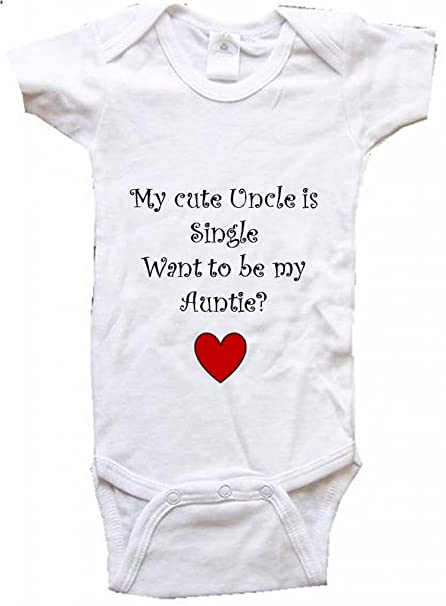 Amazon.com: Mi Cute Uncle es único – Bigboymusic bebé una ...