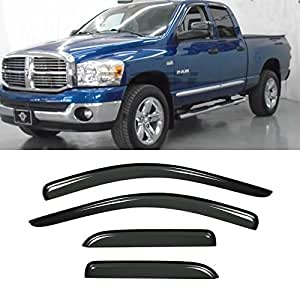 Amazon Com Vito 4pcs Side Window Deflectors Original