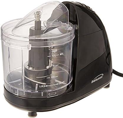 Brentwood MC-106 Mini Food Chopper NIL, 1.5 Cup, Black