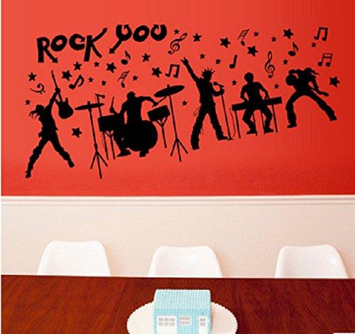 revesun-60cm90cm-removable-vinyl-rock-you-wall-sticker-rock-musical-instrument-diy-wall-decals-mural