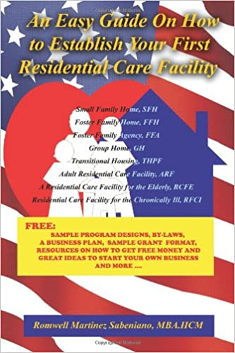 Book An Easy Guide On How to Establish Your First Residential Care Facility