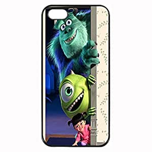 Monsters, Inc. Custom Image Case iphone 4 case , iphone 4S case, Diy Durable Hard Case Cover for iPhone 4 4S , High Quality Plastic Case By Argelis-sky, Black Case New