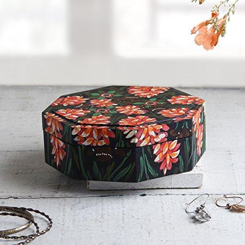 Jewelry Keepsake Trinket Storage Box Wooden Handmade Organizer by Store (Cherry Finish Dressing Chest)