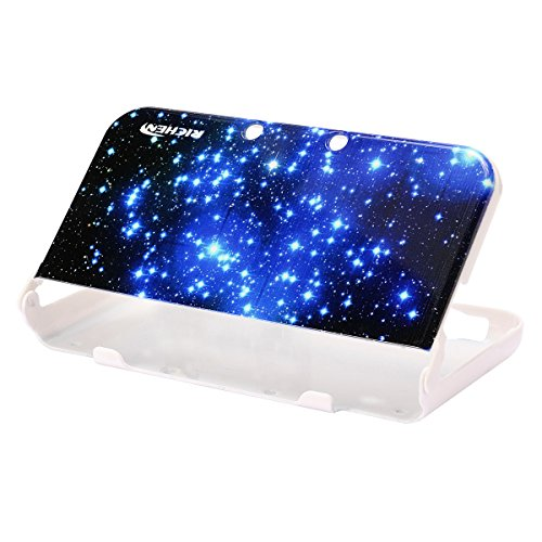 RICHEN Plastic Hard Skin Case Cover Protector Shell for Nintendo New 3DS XL LL( Starry ()