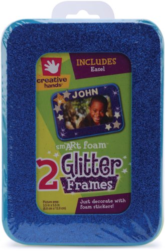 Fibre-Craft Creative Hands smART Foam Glitter Frames 3.5x5.5