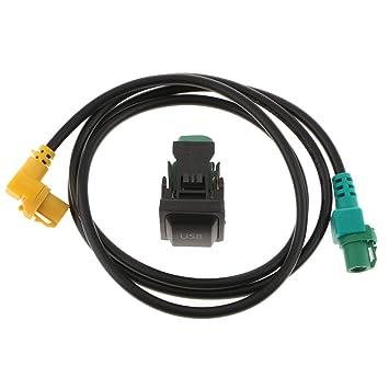 Shiwaki Fije El Arnés Del Cable Del Interruptor USB Para Los ...