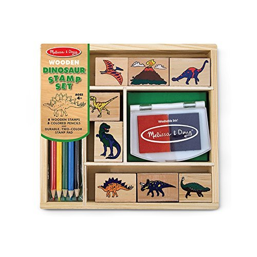 MELISSA & DOUG DINOSAUR STAMP SET (Set of 3)