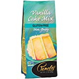 Pamela's Products Gluten Free  Cake Mix, Classic Vanilla 21-Ounce Bags (Pack of 6)