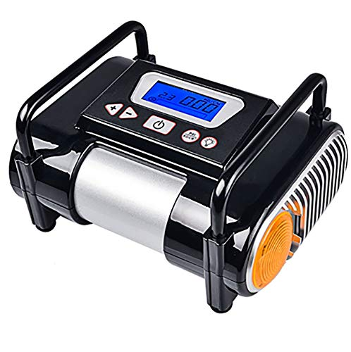 Tire Inflator/Air compressor,12V DC Tire Inflator Electric Portable Auto Air Compressor Pump to for Car,Truck, Bicycle, Basketball by HJJH (Image #7)