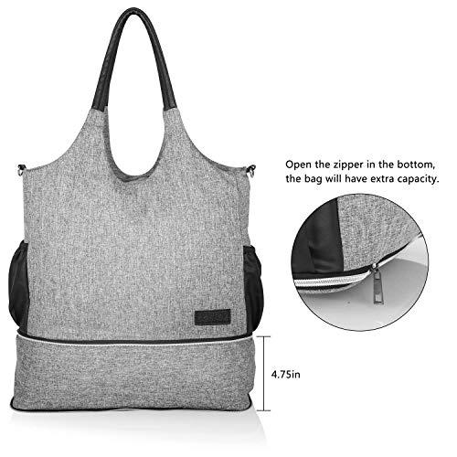 Besrey Breast Pump Bag - Mini Pump Bag with Pockets for Cool