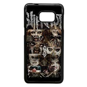 Samsung Galaxy S7 Phone Case Black Slipknot Band Case Cover PP7U368586