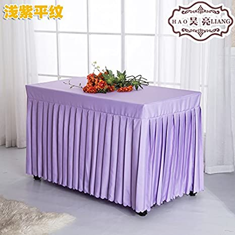 RUGAI-UE Oficina de manteles de tela falda falda tapa mesa ...