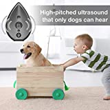 MODUS Anti Barking Device, Bark Control Device with 4 Adjustable Ultrasonic Volume Levels, Automatic Ultrasonic Dog Bark Deterrent Indoor Bark Box 100% Safe, Battery and Hanging Rope Included