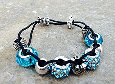 Golf Counter Bracelet - Turquoise - Roll a Bead to Count - Counting Stroke on the Course