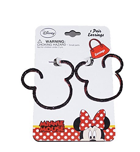 [Disney Mickey and Minnie Mouse Baby Girl Dress Up Silhouette Earrings] (Buzz Lightyear Shirt Costume)