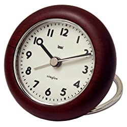 Bai Wooden Rondo Travel Alarm Clock, Landmark