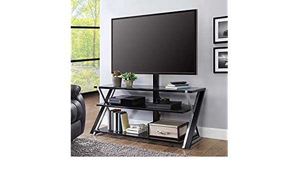 Whalen Xavier 3 In 1 Tv Stand For Tvs Up To 70 With 3 Display