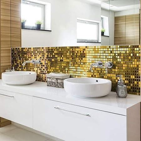 Confezione di 6 Adesivi per Piastrelle a Mosaico per Bagno e ...