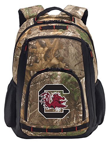 Broad Bay University of South Carolina Camo Backpack Realtree South Carolina Gamecocks Backpacks - Laptop Section!