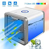 Tonha Personal Space Air Conditioner with Humidifier and Air Purifier | Portable Space Cooler for 45 Square Feet | Table or Desk Fan with Evaporative Air Technology for Cool and Refreshing Temps