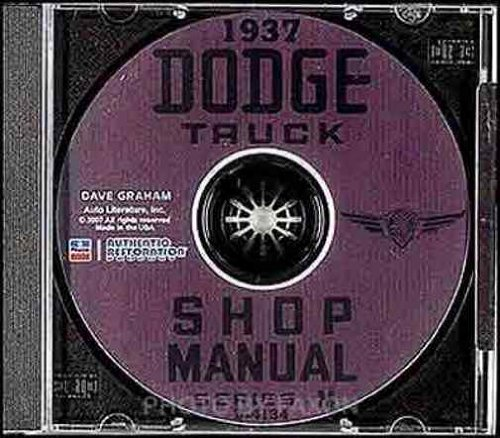 Mf Steering - 1937 DODGE TRUCK & PICKUP FACTORY REPAIR SHOP & SERVICE MANUAL On CD - COVERS; series MC, MD, ME, MF, MG, MH, and MK - 37
