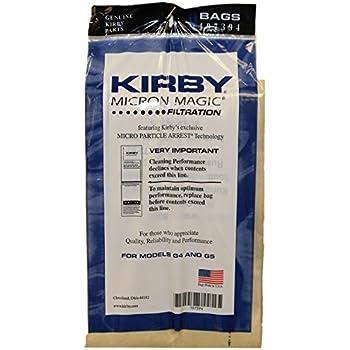 kirby part197301 genuine kirby hepa filtration vacuum bags model g6 and ultimate g