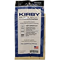 Kirby Part#197301 - Genuine Kirby Micron Magic Filtration Vacuum Bags Model G6 and Ultimate G (9 Bags & 1 belt)