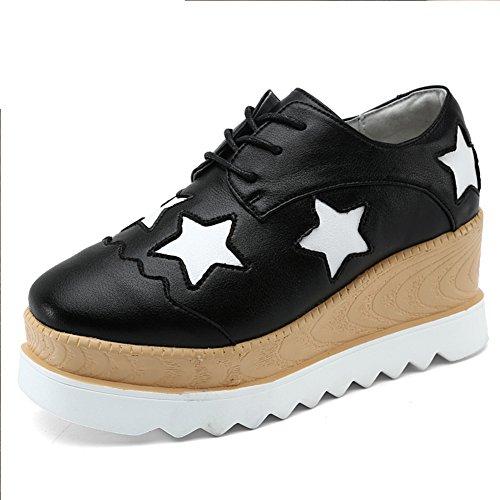 Zapatos de mujer casual/Las señoras zapatos/Zapatos de suela gruesa plataforma de las señoras/señora A