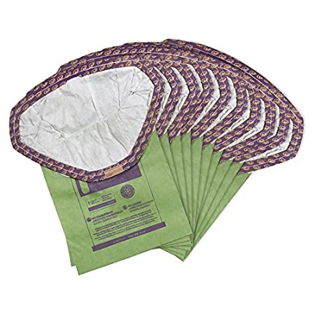 10-Pack of Replacement Vacuum Filters ProTeam 103483 Intercept Micro Filter Bags with 3.25-Quart Capacity