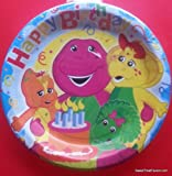Barney Party Plates Lunch Birthday Baby Boop Decoration
