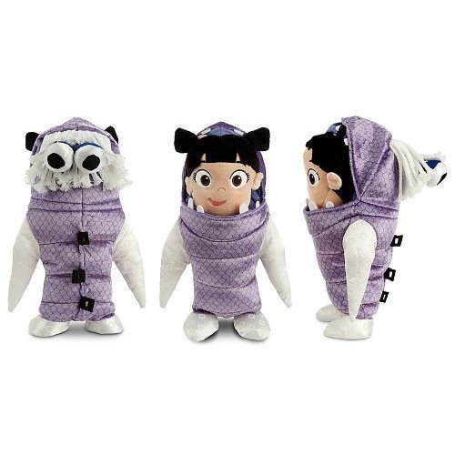 Monsters Inc Boo Costume Disney (Disney/Pixar Monster's Inc. Boo Plush Doll in Costume 11
