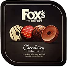 Fox's Chocolatey Biscuits Tin, 365 g