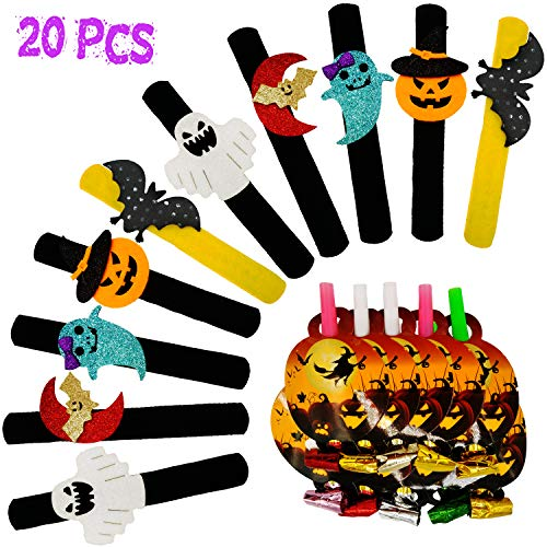 KooNicee Halloween Party Favor for Kids – Pumpkin