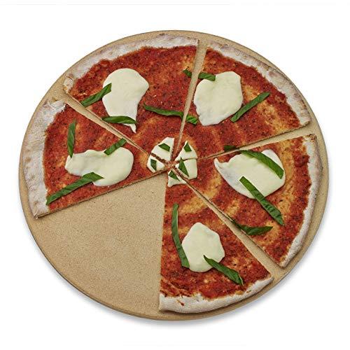 Old Stone Oven Round Pizza Stone (Renewed)