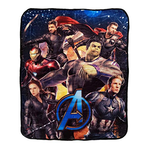 Avengers Silk Touch Throw Blanket