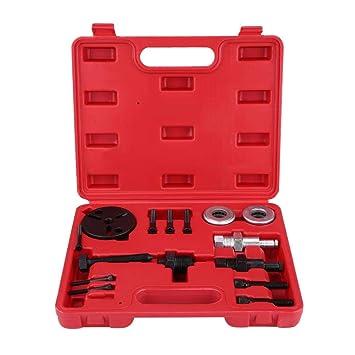Zerone Kit de Extracción de Embrague de Compresor de Aire Acondicionado Automático, Instalacion de Extractor: Amazon.es: Coche y moto
