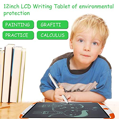 E.I.H. LCD Writing Tablet 12 Inch LCD Writing Tablet Kids Electronic Handwriting Pads Portable Digital Drawing Tablet for Adults Children