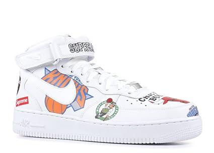 7e535bad5c2b5 Amazon.com: Nike AIR Force 1 MID 07/Supreme 11.5: Sports & Outdoors