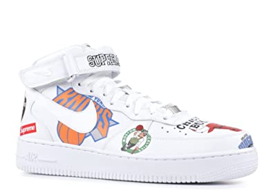 save off bb35e 898c0 Image Unavailable. Image not available for. Color  Nike Air Force 1 MID 07    Supreme ...