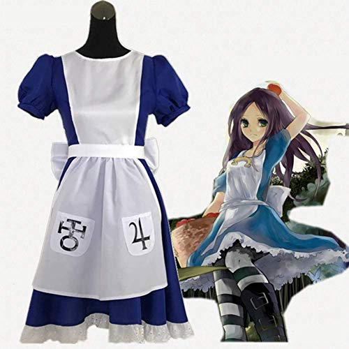 HJQ Game: Alice Madness Returns Cosplay Costume