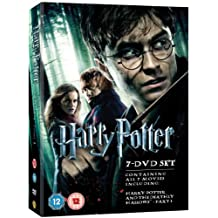 Harry Potter - Films 1-7 Box Set [DVD] [DVD] (2011) Daniel Radcliffe; Emma Wa...
