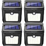 28 LEDs Solar Lights Outdoor, Motion Sensor Wireless Waterproof Security Light, Solar Lights